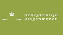Arbejdsmiljøklagenævnets logo